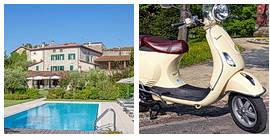VESPA TOUR: Kurzreise Gardasee und Valpolicella