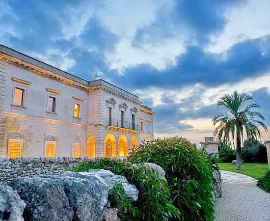 Luxus und Natur im Relais in Salento