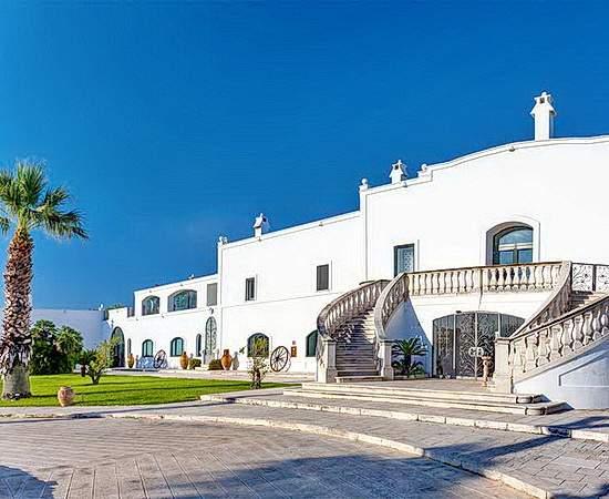 Luxus in Weiß in Masseria