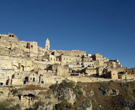 Matera die Höhlenstadt <br>© Kulturtouristik