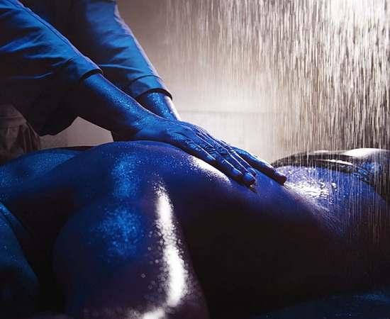 Entspannende Massage-Anwendungen im SPA Bereich <br>© Kulturtouristik (Hotel)
