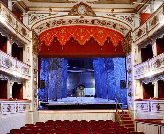 Oper Aida im Teatro Verdi in Busseto