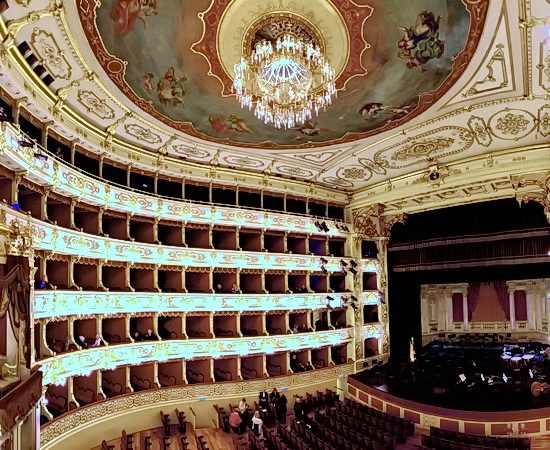 Oper I Due Foscari im Teatro Regio in Parma
