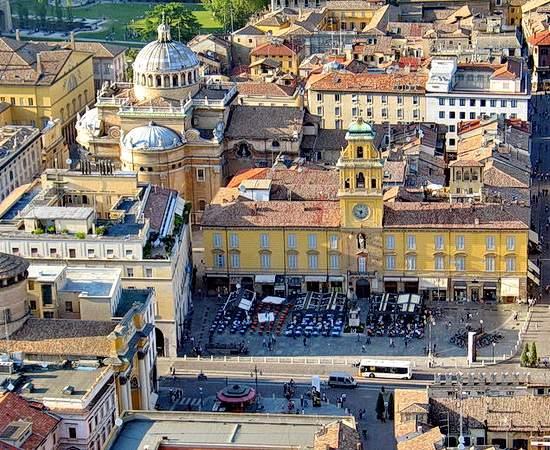 Open Air Oper Luisa Miller in Parma
