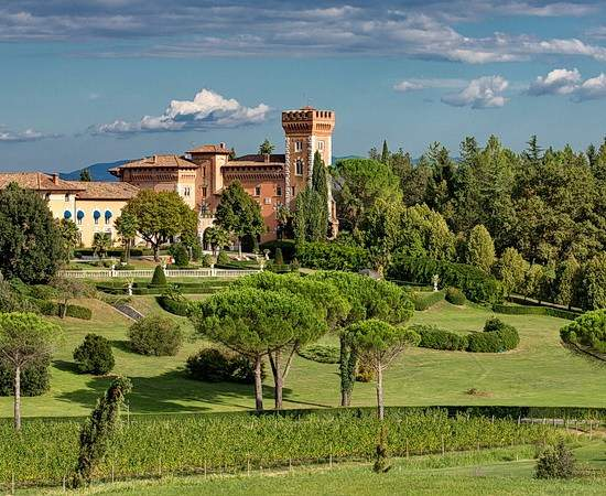 Muße im Friaulischen Schloss: Wein und Golfreise