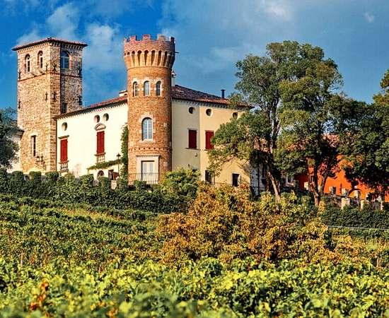 Exklusive Wein und Gourmetreise im Schloss im Friaul