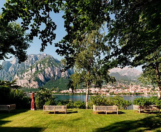 Blick vom Park Ihrer Residenz auf den Comer See <br>© Kulturtouristik (Hotel)