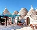 Restaurant Ihrer Residenz in sieben Trulli <br>© Kulturtouristik (Hotel)