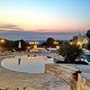 Residenz 1: Abendstimmung am Poolbereich <br>© Kulturtouristik (Hotel)