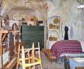 Matera: Wohn- und Schlafraum in der Felsenhöhle Casa Grotta <br>© Wikimedia Commons (Dominique grassigli [PD])
