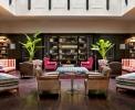 Residenz: Lounge Bereich mit Bibliothek <br>© Kulturtouristik (Hotel)