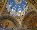 Triest: Innenraum der orthodoxen Kirche Santissima Trinità e di San Spiridione <br>© Wikimedia Commons (Aconcagua [CC-BY-SA-3.0])