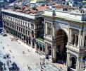 Mailand - Shopping-Paradies Galleria Vittorio Emanuele II <br>© Wikimedia Commons (High Contrast [CC-BY-SA-3.0])