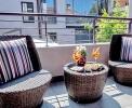 Einige Zimmer haben einen kleinen Balkon <br>© Kulturtouristik (Hotel)