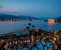 Abendstimmung mit der Isola dei Pescatori und der Isola Bella <br>© Kulturtouristik (Hotel)