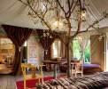 Afrikanisches Safariambiente im Luxuszelt Gelso (ca. 40qm, 2-4 Personen) <br>© Kulturtouristik (Hotel)