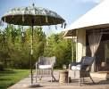 Holzterrasse vor jedem Zelt <br>© Kulturtouristik (Hotel)