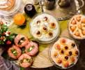 Farbenfroh und frisch: Ihr Frühstück <br>© Kulturtouristik (Hotel)